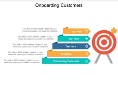 Onboarding Customers Ppt PowerPoint Presentation Inspiration Ideas Cpb