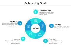 Onboarding Goals Ppt PowerPoint Presentation Inspiration Demonstration Cpb