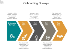 Onboarding Surveys Ppt PowerPoint Presentation Icon Skills Cpb