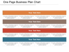 One Page Business Plan Chart Ppt PowerPoint Presentation Layouts Good PDF