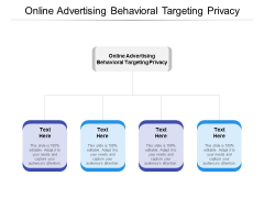 Online Advertising Behavioral Targeting Privacy Ppt PowerPoint Presentation Styles Icons Cpb Pdf