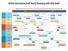 Online Advertising Half Yearly Roadmap With SEO Audit Elements