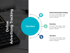 Online Advertising Tracking Ppt PowerPoint Presentation Picture Cpb