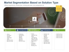 Online Banking Administration Procedure Market Segmentation Based On Solution Type Structure PDF