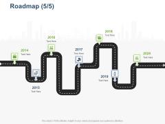 Online Banking Administration Procedure Roadmap 2014 To 2020 Ppt Inspiration Design Templates PDF