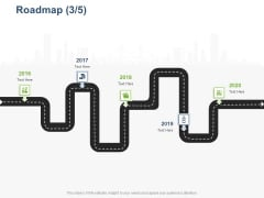 Online Banking Administration Procedure Roadmap 2016 To 2020 Ppt Summary Examples PDF