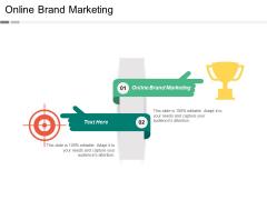 Online Brand Marketing Ppt Powerpoint Presentation Gallery Aids Cpb