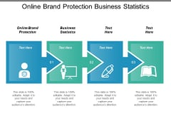 Online Brand Protection Business Statistics Ppt PowerPoint Presentation Portfolio Background