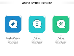 Online Brand Protection Ppt PowerPoint Presentation Portfolio Outfit Cpb Pdf