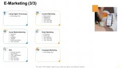 Online Business Administration E Marketing Technology Summary PDF