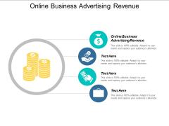 Online Business Advertising Revenue Ppt PowerPoint Presentation Portfolio Icons Cpb