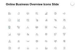 Online Business Overview Icons Slide Growth Social Ppt PowerPoint Presentation Slides Microsoft