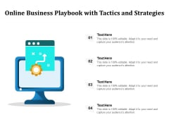 Online Business Playbook With Tactics And Strategies Ppt PowerPoint Presentation File Summary PDF