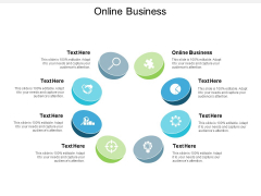 Online Business Ppt PowerPoint Presentation Icon Rules Cpb