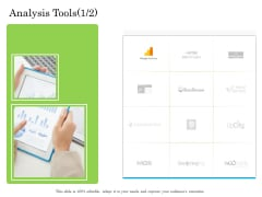 Online Business Program Analysis Tools Ppt Icon PDF