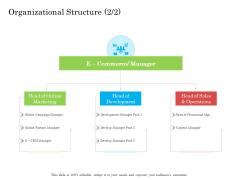 Online Business Program Organizational Structure Structure PDF