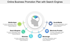 Online Business Promotion Plan With Search Engines Ppt PowerPoint Presentation Gallery Inspiration PDF