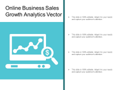 Online Business Sales Growth Analytics Vector Ppt Powerpoint Presentation Outline Aids