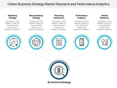 Online Business Strategy Market Research And Performance Analytics Ppt Powerpoint Presentation Infographics Images