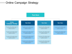 Online Campaign Strategy Ppt PowerPoint Presentation Pictures Graphics Tutorials Cpb