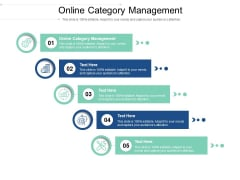 online category management ppt powerpoint presentation layouts icons cpb pdf