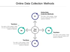 Online Data Collection Methods Ppt PowerPoint Presentation Layouts Outline Cpb