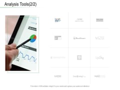 Online Distribution Services Analysis Tools Tool Ppt Model Icon PDF
