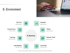 Online Distribution Services E Environment Ppt Ideas Icons PDF