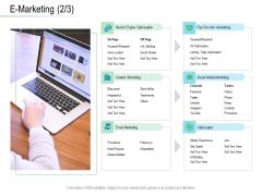 Online Distribution Services E Marketing Posts Ppt Model Sample PDF