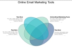Online Email Marketing Tools Ppt PowerPoint Presentation Slides Examples Cpb