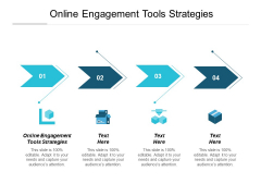 Online Engagement Tools Strategies Ppt PowerPoint Presentation Professional Graphics Cpb