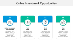 Online Investment Opportunities Ppt PowerPoint Presentation Pictures Background Designs Cpb