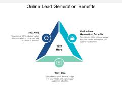 Online Lead Generation Benefits Ppt PowerPoint Presentation Outline Microsoft
