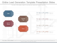Online Lead Generation Template Presentation Slides