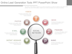Online Lead Generation Tools Ppt Powerpoint Show