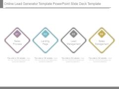 Online Lead Generator Template Powerpoint Slide Deck Template