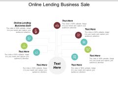 Online Lending Business Sale Ppt PowerPoint Presentation Outline Slideshow Cpb