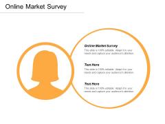 Online Market Survey Ppt Powerpoint Presentation Visual Aids Layouts Cpb