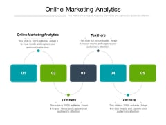 Online Marketing Analytics Ppt PowerPoint Presentation Ideas Example Introduction Cpb