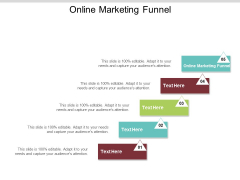Online Marketing Funnel Ppt PowerPoint Presentation Diagram Graph Charts Cpb