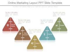 Online Marketing Layout Ppt Slide Template