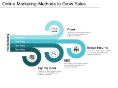 Online Marketing Methods To Grow Sales Ppt Powerpoint Presentation Summary Demonstration