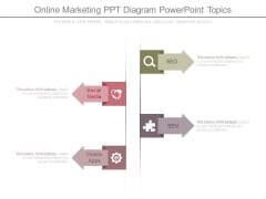 Online Marketing Ppt Diagram Powerpoint Topics