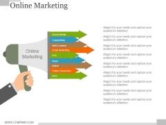 Online Marketing Ppt PowerPoint Presentation Model Graphics