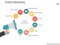 Online Marketing Ppt PowerPoint Presentation Pictures Example