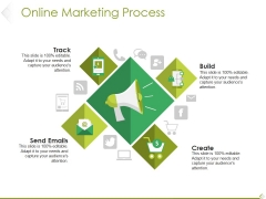 Online Marketing Process Ppt PowerPoint Presentation Icon Mockup