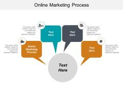 Online Marketing Process Ppt PowerPoint Presentation Ideas Slide Portrait Cpb
