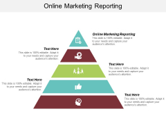 Online Marketing Reporting Ppt PowerPoint Presentation Summary Design Inspiration Cpb