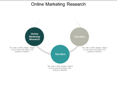 Online Marketing Research Ppt PowerPoint Presentation Model Graphic Images Cpb