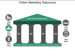 Online Marketing Resources Ppt PowerPoint Presentation Pictures Cpb